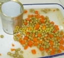 Canned Peas and Carrot